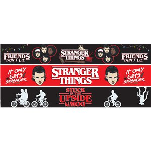 Festoni di carta Stranger Things - 1 m