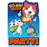 Inviti Yo-Kai Watch - Cartoline di invito per feste