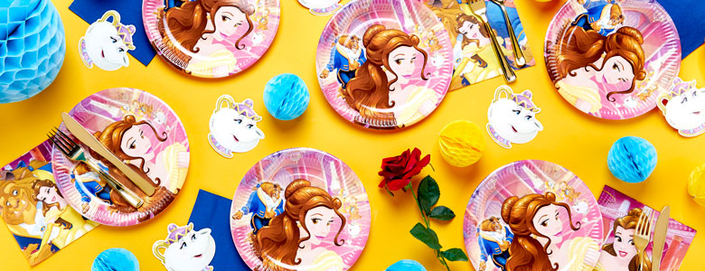 Articoli Per Feste Bella E La Bestia Disney Party City It