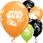 Palloncini in lattice Star Wars 28 cm - 25 pezzi