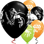 Palloncini in lattice Star Wars - 30 cm - 6 pezzi