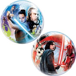 Palloncino bubble Star Wars L'ultimo jedi 56 cm