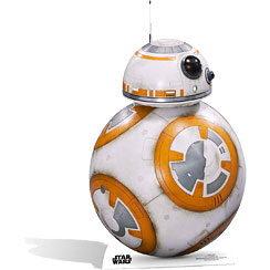 Mini sagoma di cartone BB-8 Star Wars - 94 cm