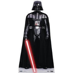 Sagoma di cartone Darth Vader Star Wars - 1,95 m