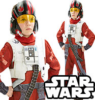 Poe X-Wing Fighter - Costume Bambino