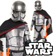 Capitan Phasma super deluxe - Costume Bambino
