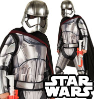 Capitan Phasma deluxe - Costume Adulto