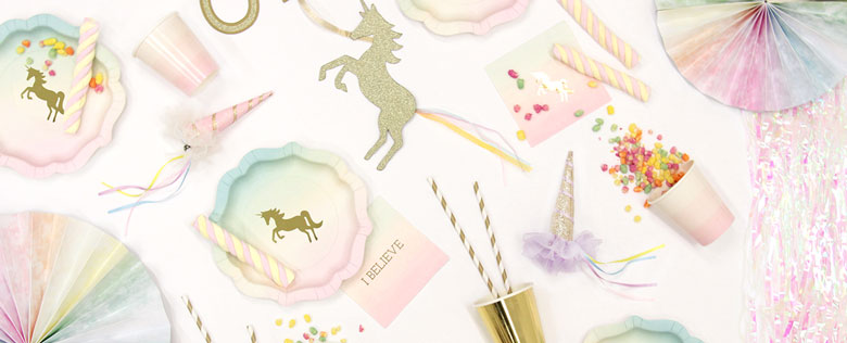 Articoli per feste we love unicorn